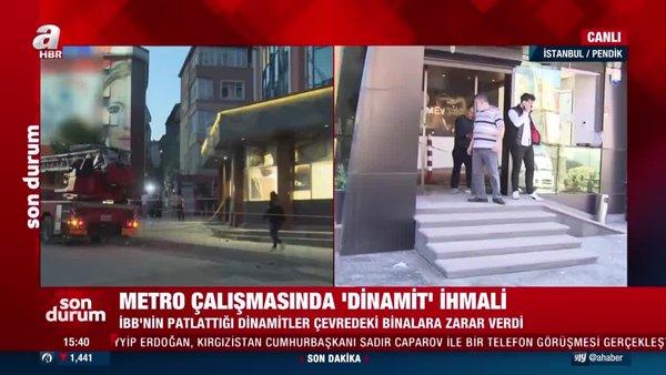 SON DAKİKA: İstabul'da Pendik'te metro inşaatındaki patlamanın sebebi belli oldu!