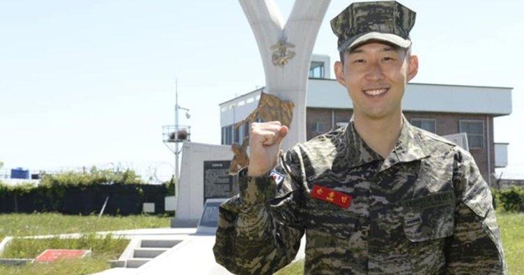 Heung Min-Son: 3 hafta askerlik çok uzundu