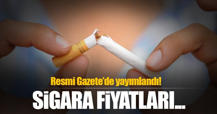 Sigaraya zam gelecek mi? Resmi Gazete'de yayımlandı