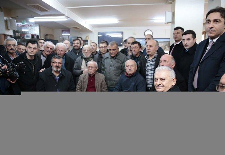 Başbakan Yıldırım'dan Güneycelilere Erdoğan sürprizi!