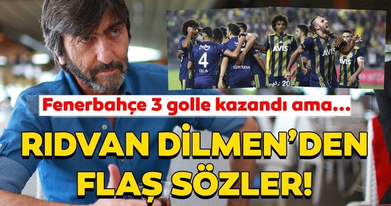 Rıdvan Dilmen'den Fenerbahçe - Kasımpaşa maçı için çarpıcı tespitler!