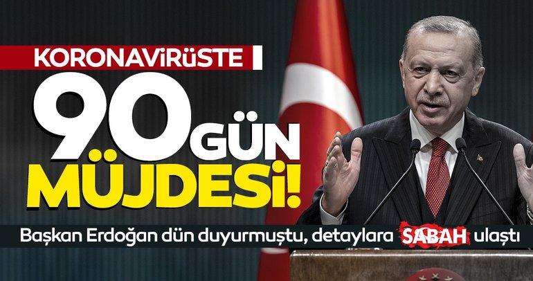 Son dakika haberi: Başkan Erdoğan açıkladı! Koronavirüste 90 gün müjdesi! 50 milyon doz aşılık imzanın detayları...
