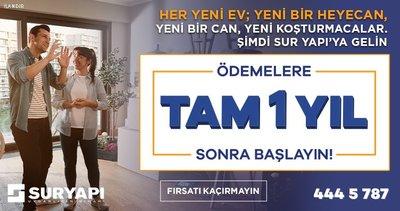 Sur Yapı'nın Antalya ve İstanbul'daki Konut Projelerinden Ev Sahibi Olun!