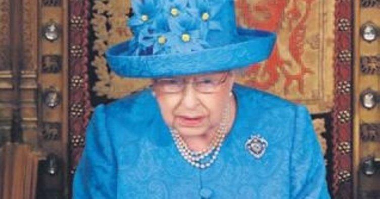 Kraliçe'nin konuşmasını keçi derisi mi geciktirdi?