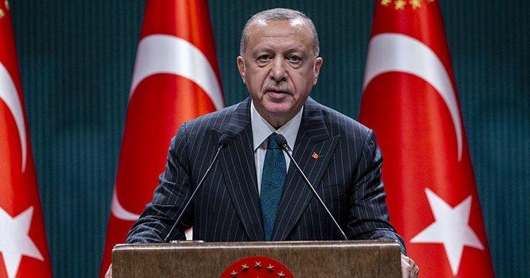 Başkan Erdoğan Kınık'a kutlama mesajı gönderdi