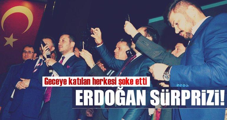 Cumhurbaşkanı Erdoğan'dan Geredelilere sürpriz