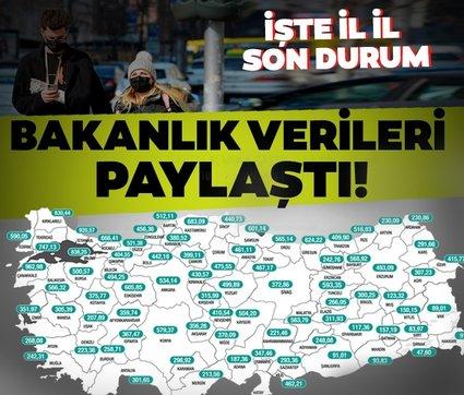 Son dakika: İşte 10-16 Nisan haftalık Covid-19 vaka sayıları! İstanbul, İzmir ve Ankara'da son durum ne?
