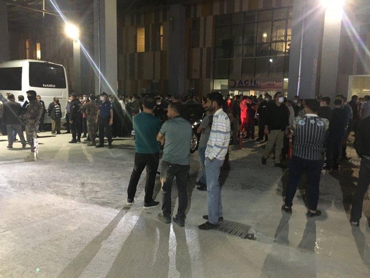 Terör saldırısı sonrası hastane önünde acı bekleyiş