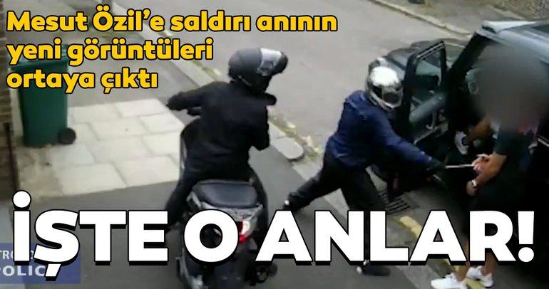 Mesut Özil'e saldırı anının yeni görüntüleri ortaya çıktı! İşte o anlar