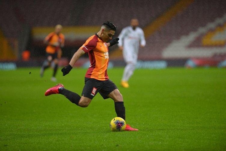 Galatasaray'da Falcao gerçeği! 2 maça çıktı 16 milyon aldı