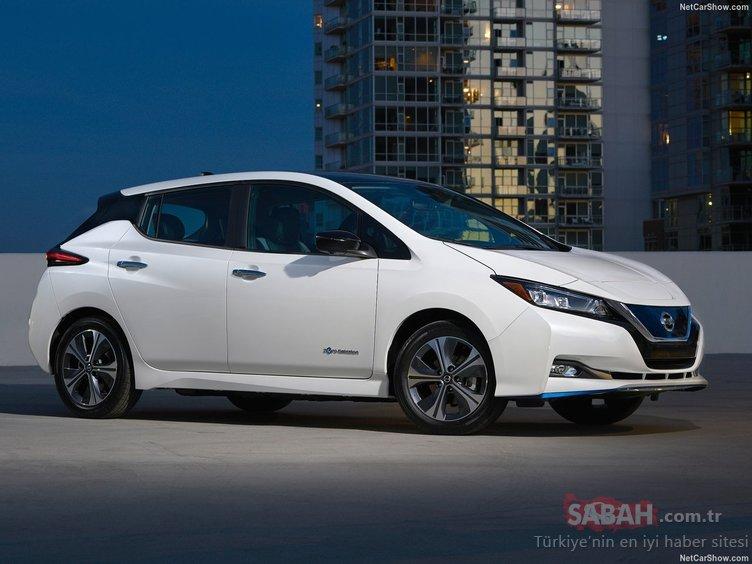 Nissan Leaf 3.Zero e + Limited Edition CES 2019'da kendini gösterdi