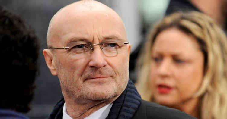 Dünyaca ünlü şarkıcı Phil Collins hastaneye kaldırıldı