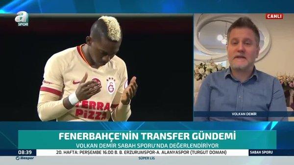 Sabah Gazetesi muhabiri Volkan Demir'den Onyekuru ve Vedat Muriqi açıklaması! | Video
