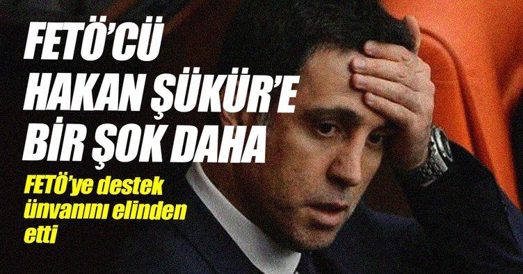 ÇOMÜ, FETÖ'cü Hakan Şükür'ün fahri doktorasını geri aldı