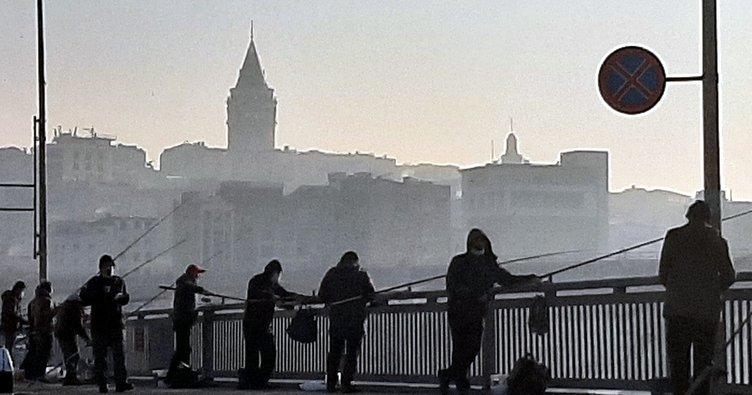 İstanbul sis pus oldu