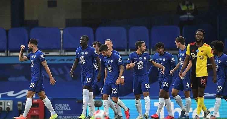 Chelsea Watford'u 3 golle geçti!   Chelsea 3-0 Watford   MAÇ SONUCU