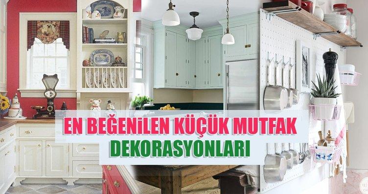 En beğenilen küçük mutfak dekorasyonları