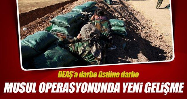 Irak ordusu Musul'da altı mahalleyi aldı