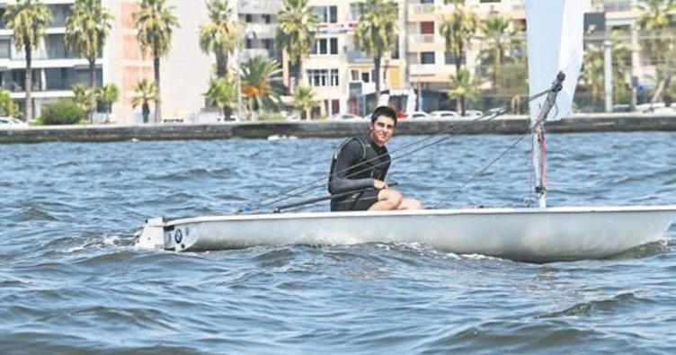 Olimpiyat madalyası için yelken açıyor