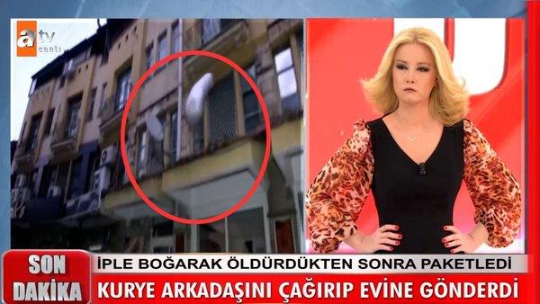 Müge Anlı'da SON DAKİKA! Mervenur Polat'ın cesedini balkondan böyle atmışlar... Müge Anlı'dan
