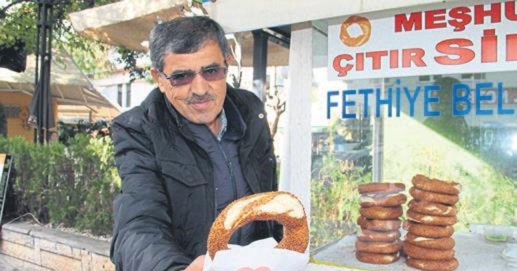 Fethiye'de simit fiyatı tartışması