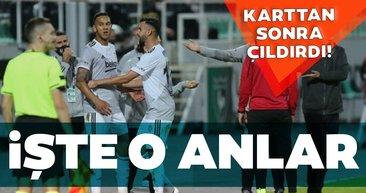 Beşiktaş'ta Josef de Souza karttan sonra çıldırdı! İşte o anlar...