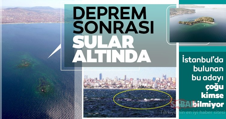 İstanbul'un 1010 yılındaki depremiyle sulara gömülen onuncu adası: Vordonisi!