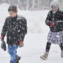 Niğde'den yılın ilk kar tatili haberi!