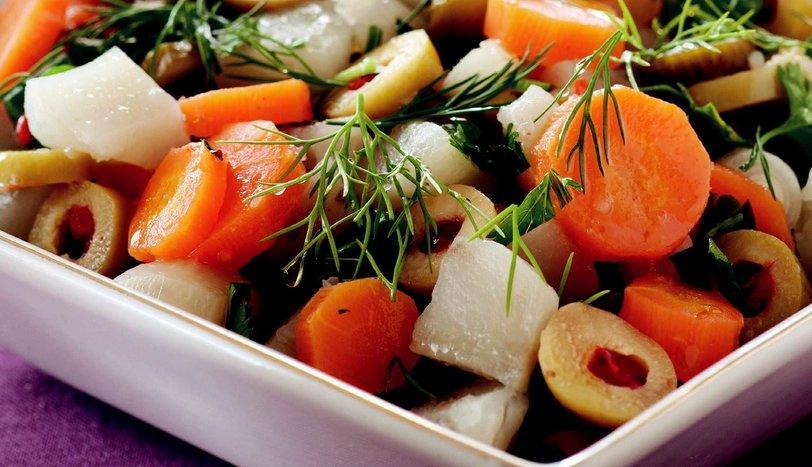 Yerelması Salatası
