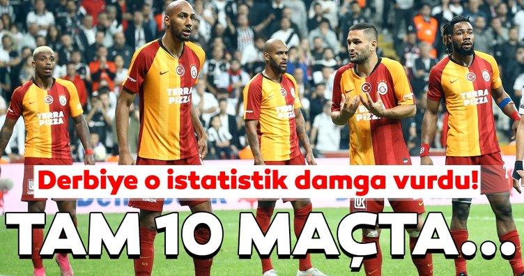 Beşiktaş - Galatasaray maçından kareler