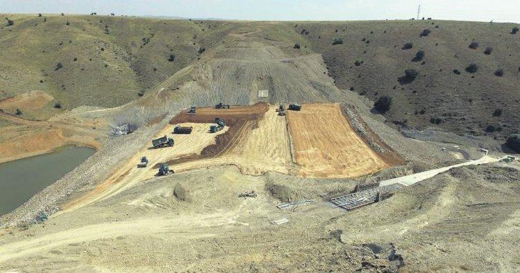 Akyurt Sel Kapanı projesinde sona yaklaşıldı