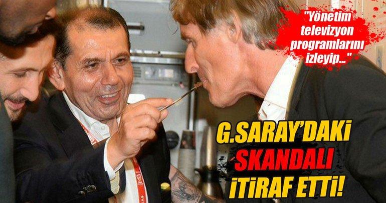 Riekerink'ten Galatasaray itirafları