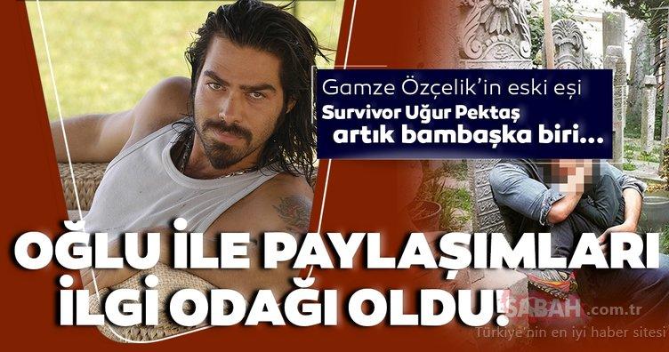 Survivor Uğur Pektaş artık bambaşka bir hayat yaşıyor! Survivor 2021 için adı geçen Uğur Pektaş'ın oğlu Murathan Pektaş ile paylaşımları ilgi odağı oldu...