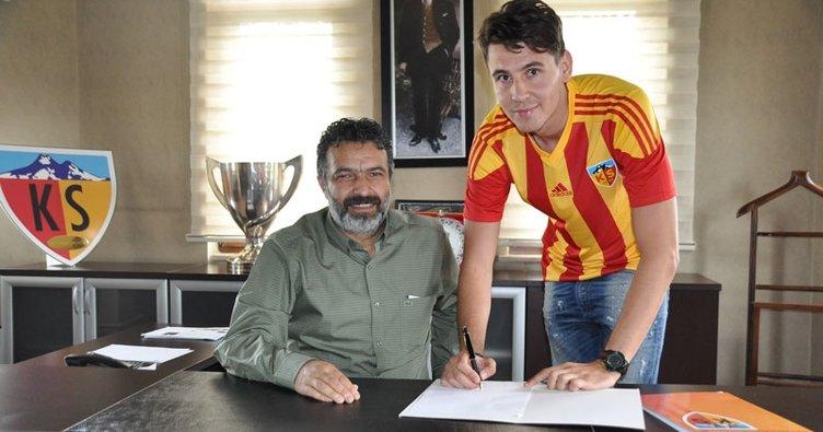 Kayserispor, Rumen kaleci Silviu Lung'u transfer etti