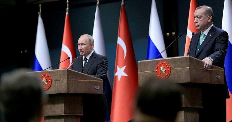 Erdoğan ve Putin Ankara'da bir araya gelecek