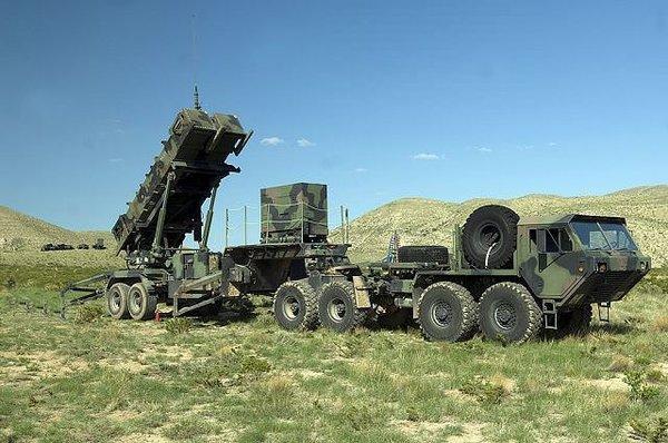 Patriot füze sistemleri