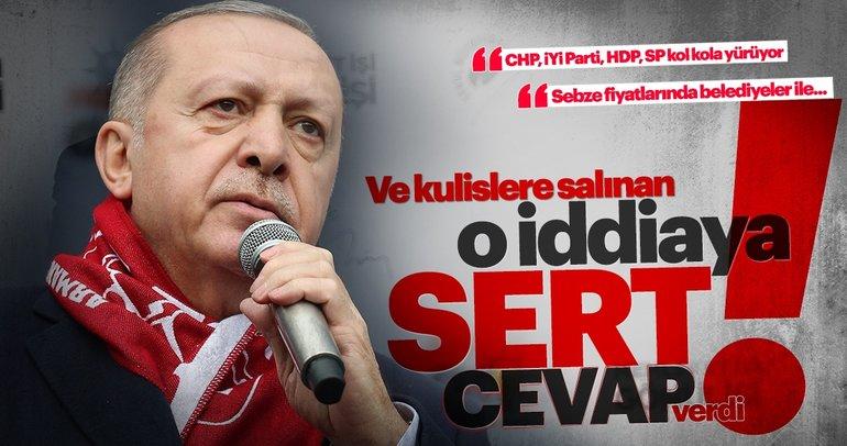 Başkan Erdoğan Sivas'ta konuştu: Bu yalanlara inanmayın!
