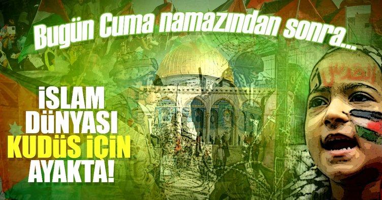 İslam dünyası Kudüs için ayakta
