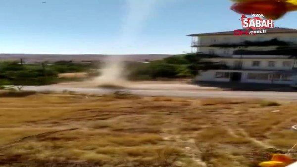 Son Dakika Haberi | Elazığ'daki korkutan hortum kamerada | Video