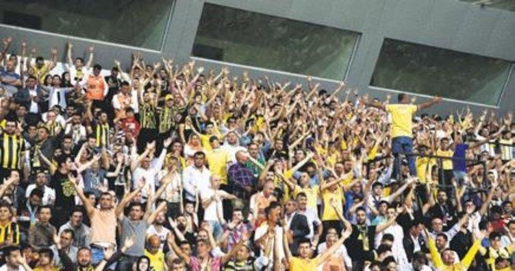 A.Gücü taraftarı Akhisarspor biletlerini 5 dakikada tüketti