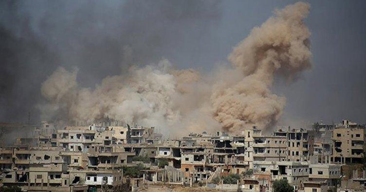 Esed rejimi ve destekçileri güney cephesinde sivilleri vurdu
