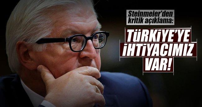Steinmeier'den kritik Türkiye açıklaması!