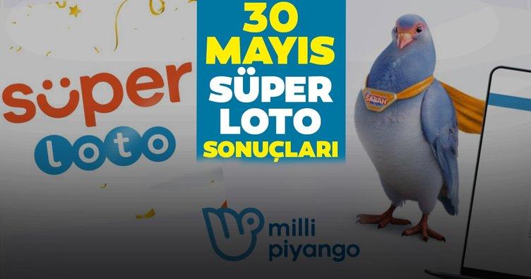 Süper Loto sonuçları son dakika belli oldu! Milli Piyango Online ile 30 Mayıs Süper Loto çekiliş sonuçları - MPİ bilet sorgulama motoru