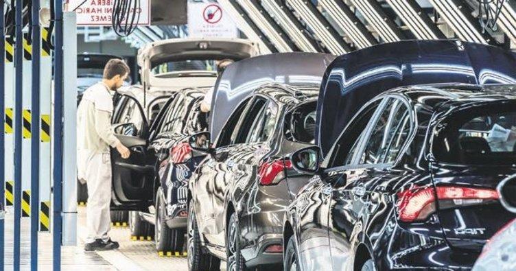 İhraç edilen her 10 araçtan 4'ü otomobil