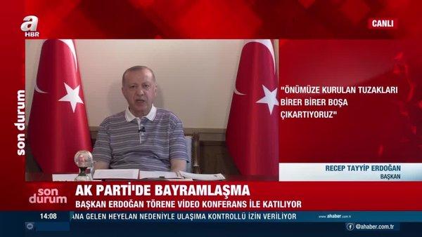 SON DAKİKA: Başkan Erdoğan'dan çok net Kıbrıs mesajı: Bizim için bağımsız devletler vardır