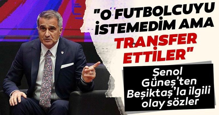 Şenol Güneş'ten Uluslararası Futbol Ekonomi Forumu'nda gündem yaratacak açıklamalar