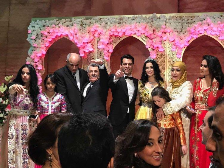 Murat Yıldırım ile İmane Elbani Fas'ta ikinci düğünü yaptı! İşte muhteşem düğünden kareler