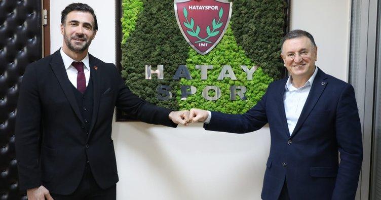 Ömer Erdoğan 2 yıl daha Hatayspor'da