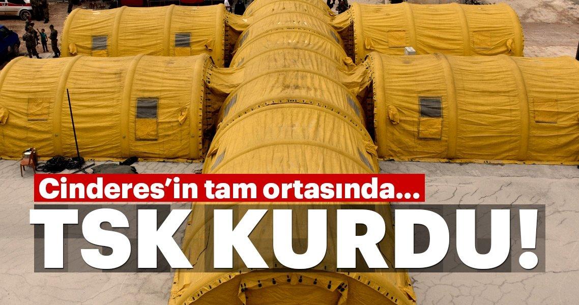 Son Dakika: TSK, Cinderes'te kurdu