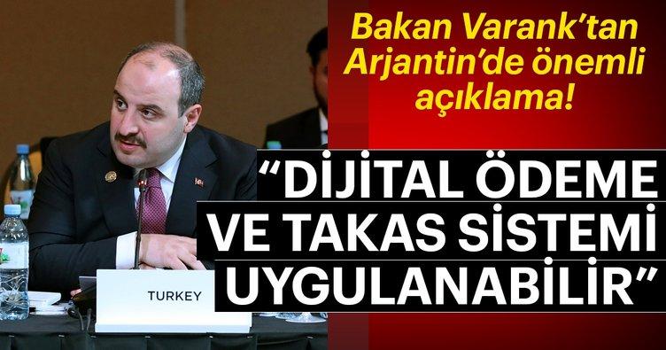 Bakan Varank'tan Arjantin'de önemli açıklama! Küresel ayrıcalıklarını kırabiliriz